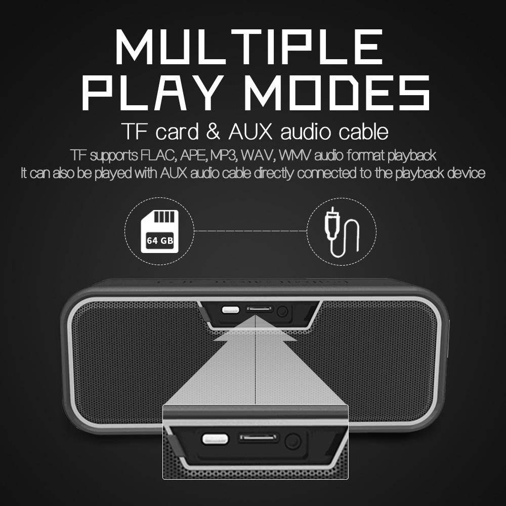 YOUXIU Portable Bluetooth Speaker 40W Outdoor Subwoofers IP67 Waterproof 3D Stereo Super Bass Handsfree TWS Wireless Sound Box enlarge