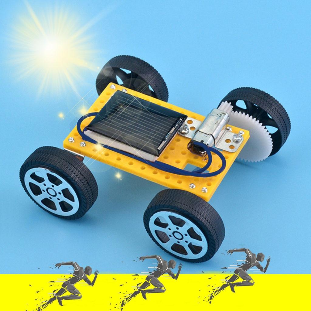 Juego de bricolaje Solar para coche, Kit de coche con energía Solar, ciencia educativa para chico, juego divertido para niños, juguete para bebés, juguetes para niños y niñas