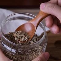 10pcs small wooden spoon mini coffee tea scoop salt spice seasoning spoon short handle wood kitchen spoons kitchen accessories