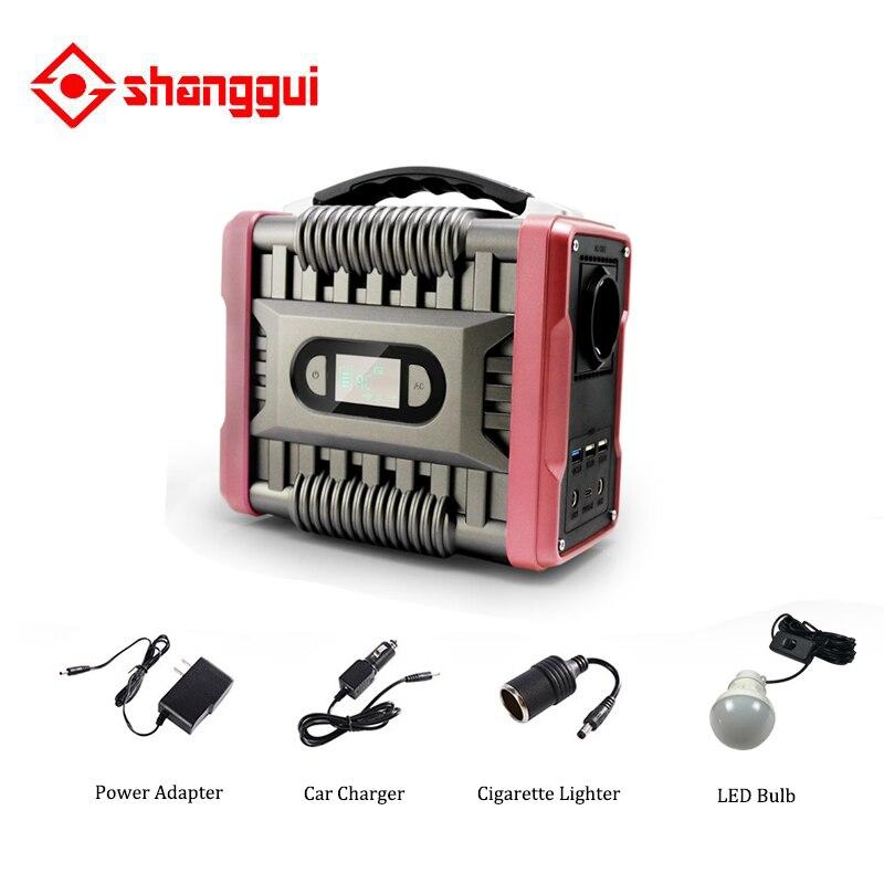 220v portable inverter power generator camping enlarge