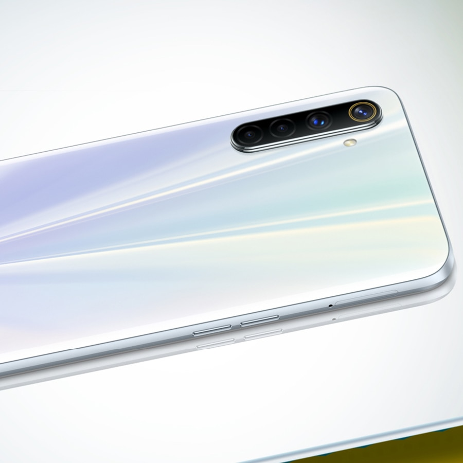 Global Version realme 6 Mobile Phone 8GB RAM 128GB ROM 30W Flash Charge 64MP Camera 4300mAh Cellphone 90Hz Display Helio G90T enlarge