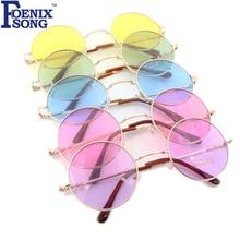 Солнцезащитные очки для женщин, новые брендовые Дизайнерские мужские солнцезащитные очки с круглой оправой, розовые зеркальные очки, Lunette de Soleil Femme