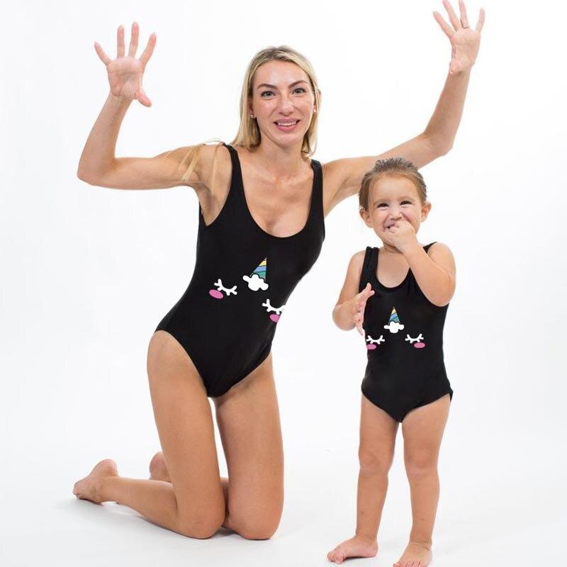 Niños traje de baño Niña bebé 2020 mujeres Sexy Bikini traje de baño mujer mamá y yo