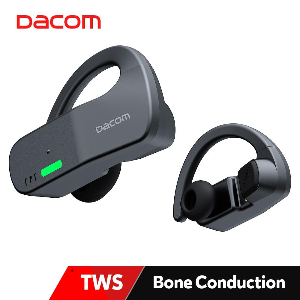 DACOM Bonebuds-سماعة بلوتوث TWS ، سماعة رأس رياضية مقاومة للماء ، ستيريو لاسلكي ، AAC Type-C