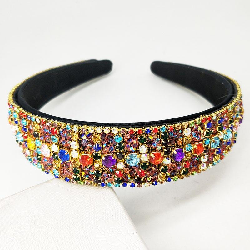 Elegante diadema de franela para mujer, diadema de flor para novia entrecruzado con perlas, diadema elástica