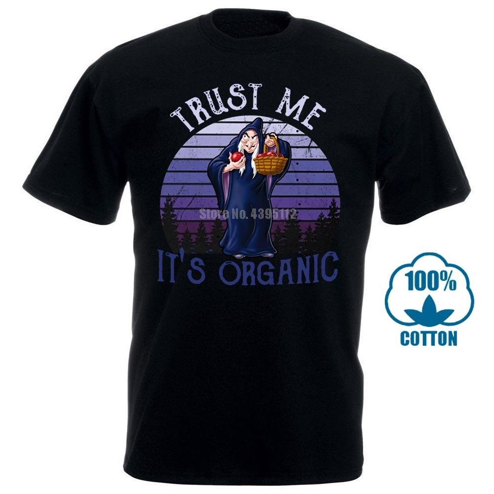 Футболка с надписью «злой Королева», «Белоснежка», «Trust Me it Organic Black», Размеры M 6 Xl