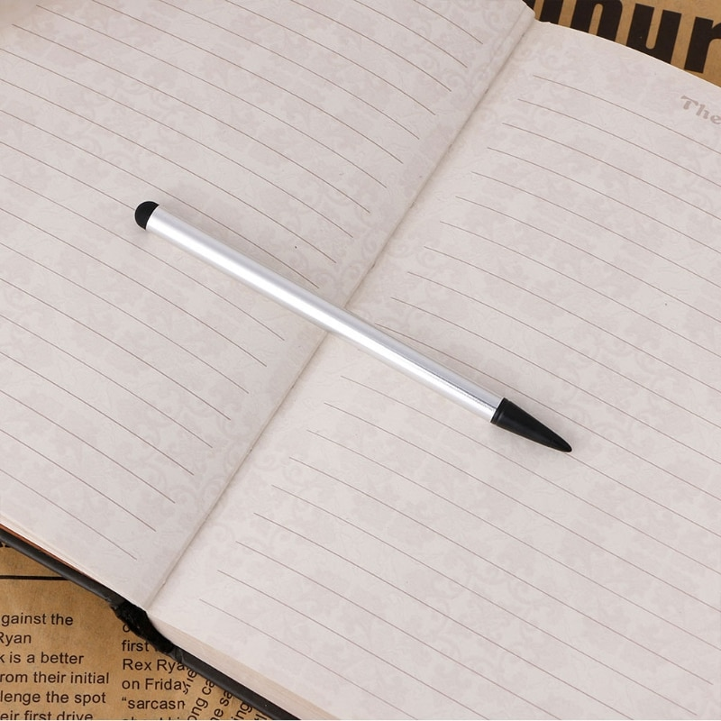 2-In-1 Capacitive & Resistive Touch Screen Stylus Pen for iphone Tablet Phone