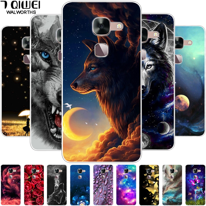 For Leeco LE S3 X626 / LE 2 X620 X625 X527 Case Silicone Wolf Soft TPU Cover for LETV Leeco Le 2 Pro