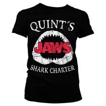 Jaws- Quints القرش ميثاق المرأة تي شيرت S-XL أحجام قصيرة الأكمام س الرقبة تي شيرت أوم لسيدة الموضة الصيف المحملة