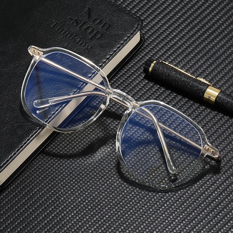 Новые очки TR90, компьютерные очки с защитой от синего света, черные прозрачные защитные очки для глаз, мужские игровые очки