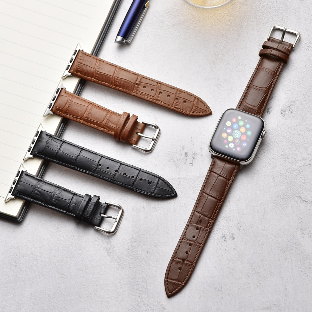 strap for apple watch 5 band 44mm 40mm leather loop iwatch band 38mm 42mm bracelet watchband correa apple watch series 5 4 3 2 1 Leather Loop Strap for apple watch band 42mm 38mm correa pulseira watchband bracelet for iwatch 44mm 40mm series 6 Se 5 4 3 2 1