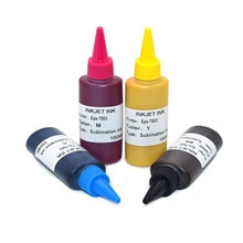 4*100ml T702 T34XL T3471-T3474 Encre De Sublimation pour Epson Workforce WF-3720 WF-3725 WF-3730 WF-3721 WF-3733 Imprimante
