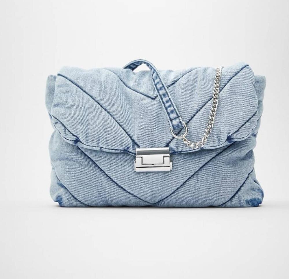 Роскошные Дизайнерские джинсовые сумки, женские ранцы через плечо, женские сумки 2021, женские сумки через плечо, женские сумки-мессенджеры