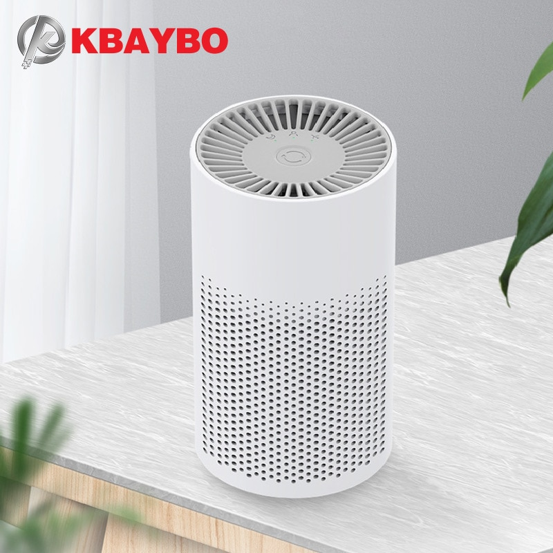 KBAYBO air purifier anion Generator portable cleaner filter purifying Negative Ion personal Odor Eli