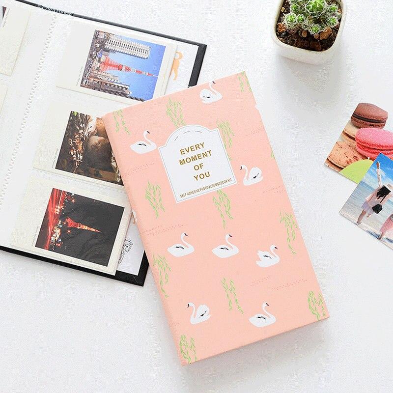 Álbum polaróide com bolsos, álbum de fotos para fujifilm instax, mini filme