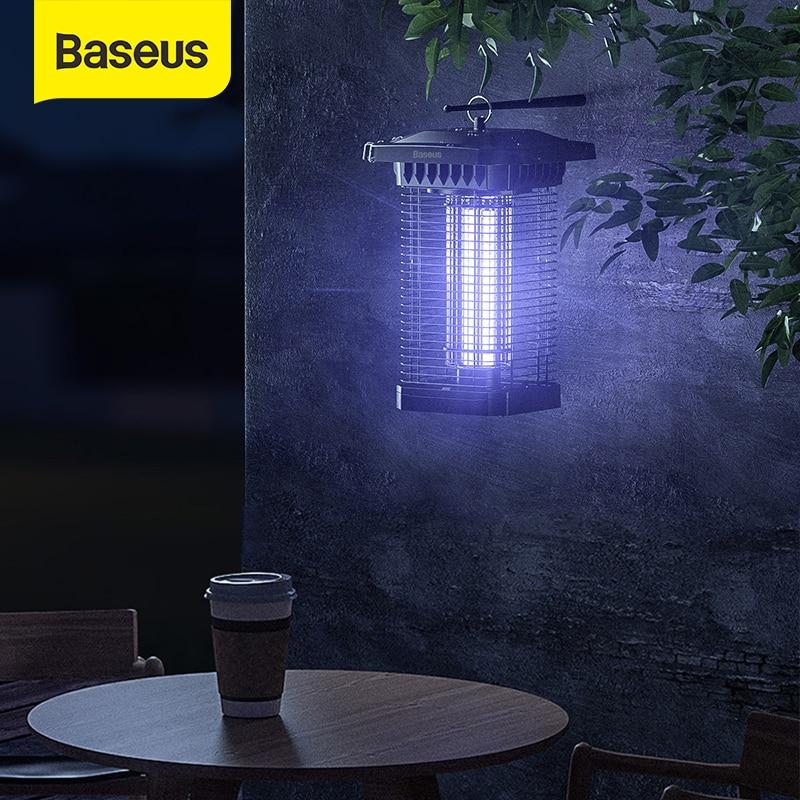 Baseus światło UV lampa komar morderca fotokatalityczne odstraszający szkodników pułapka ogród dziedzińce światło latarni Led Mosquito Zapper