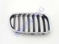 1 PC Chrome Upper kidney Grille Grill Insert RH 5111 2993 308 for BMW X1 Series E84 2010-2012