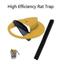 Многоразовая умная мышь, крыса, ловушка, Пластиковая Складная крышка ведра, мышь, ловушка для мыши, гуманная или смертоносная ловушка, дверн...