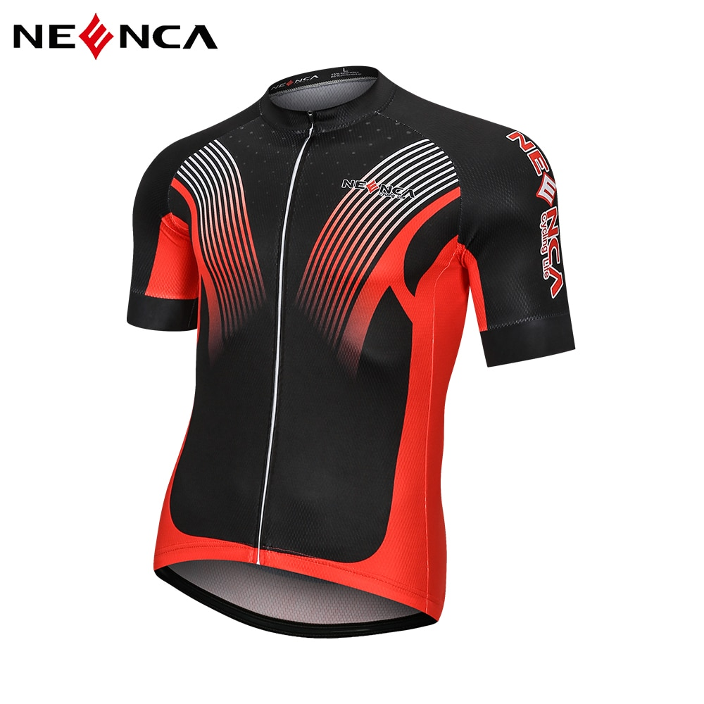 NEENCA Cycling Jersey Breathable Short Sleeve Cycling Jersey Summer Quick Dry MTB Road Biking Top Shirt Cycling Clothing Men nw cycling jersey for men quick dry short sleeve clothing set summer outdoor sportswear black retro cycling jersey for men