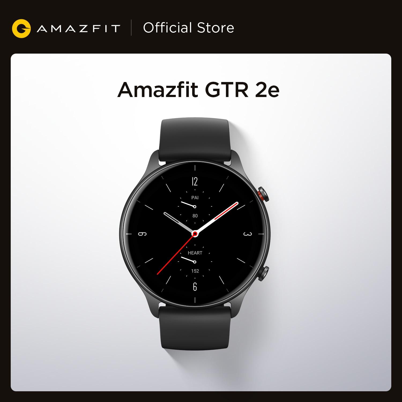 2021 Новый Amazfit GTR 2e Smartwatch 1,39 ''amoled мониторинг качества сна сердечного ритма при давлении до 5 ATM Смарт-часы для Andriod IOS