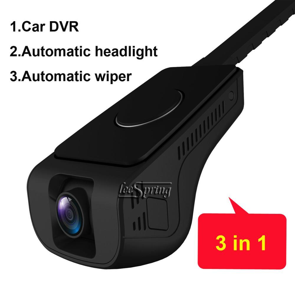 Capteur de phares Auto intelligent DVR   Voiture FULL HD, essuie-glace intelligent, pour KIA Sportage, (2018) 2.0 2018