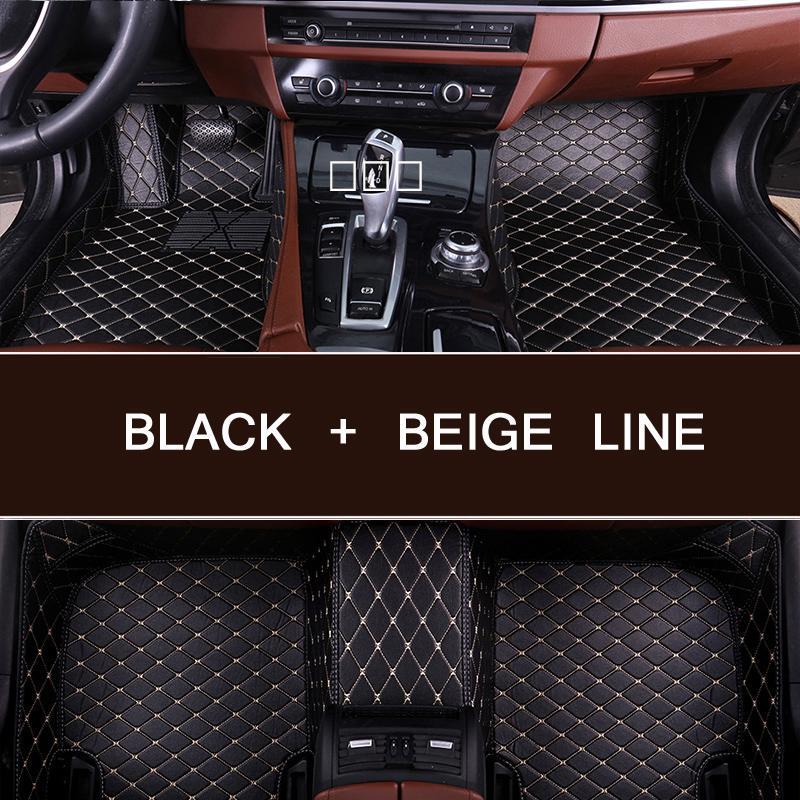 Nueva llegada alfombrilla de pies para suelo de coche personalizada para Suzuki kizaki Vitara rápida SX4 etc alfombra de cuero impermeable coche inter Accesorios
