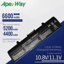 1.1V batterie dordinateur portable Pour Dell Inspiron 1545 1525 1526 1546 Vostro 500 0GW240 0GW241 0GW252 HP287 HP297 XR682 XR694 XR693 XR697
