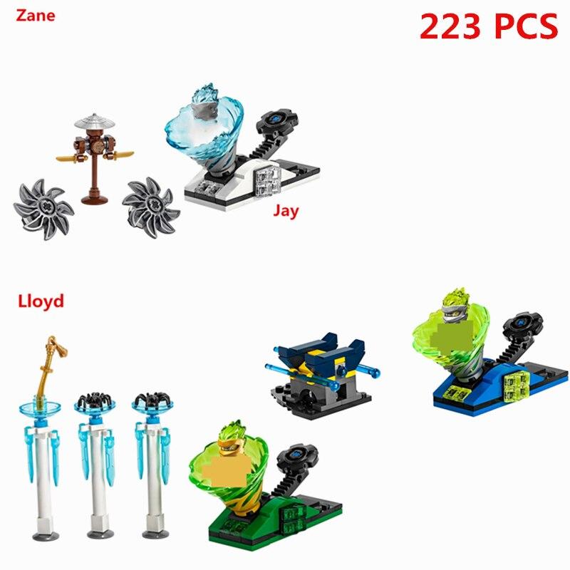 2020 Ninjagoed Gyro Spinjitzu Slam Lloyd Zane Jay Building Blocks Sets Bricks Movie Classic Model Kids Toys