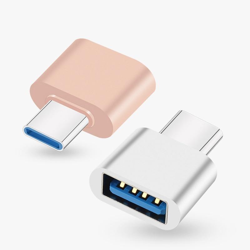Nuevo USB 2,0 tipo-C OTG adaptador de Cable tipo C USB-C convertidor...