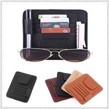 Auto Car Card Storage Organizer Bag Glasses Holder for KIA RIO K3 K4 K5 Sportage SORENTO venga Hyundai Avante Sonata
