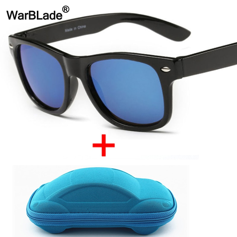 WarBLade Cool Kids Sunglasses Children Anti-uv Sun Glasses Boys Girls Baby Eyeglasses Coating Lens U