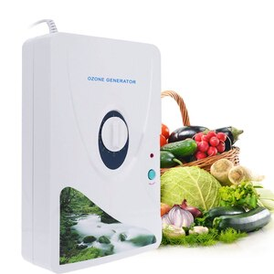 Professional 600mg/h Ozone Generator Ozonator O3 Timer Air Purifiers Purify Oil Vegetable Meat Air Water