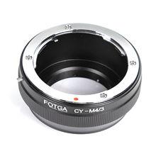 Anillo adaptador de lente FOTGA para lentes Contax/Yashica CY a Micro 4/3 m4/3 adaptador para Olympus Panasonic cámara Lumix