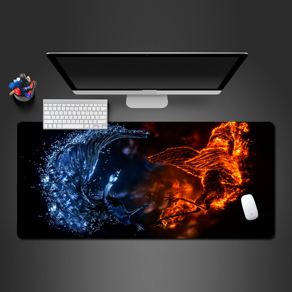 Alfombrilla de ratón guay creativa con personalidad súper Popular, almohadillas para juegos de estilo artístico moderno, alfombrilla para ordenador portátil