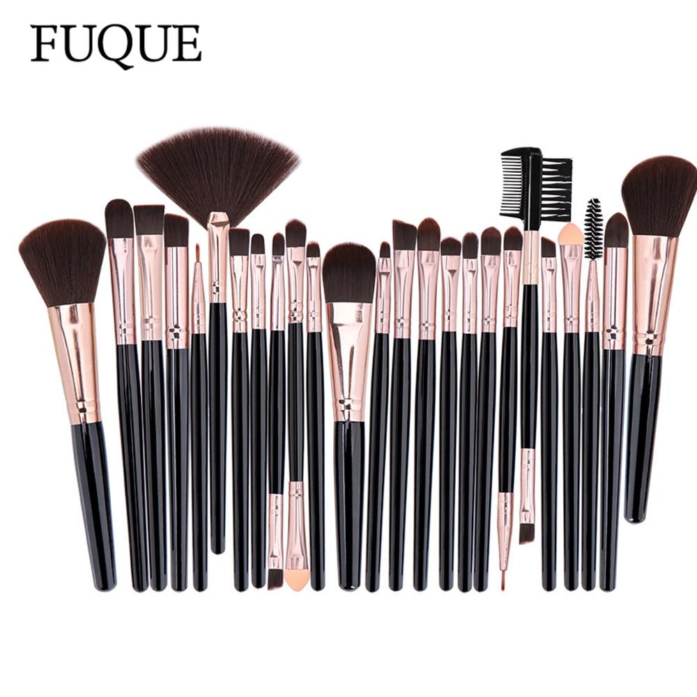 Professional Makeup Brushes Set Powder Foundation Blusher and Eyeshadow Tools For Women Cosmetic 25Pcs Brushes Set
