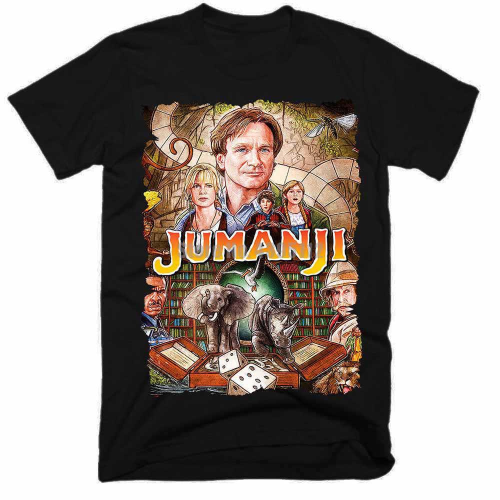 Jumanji filme personalizado camisa fishinger camisa camisas de fitness gay t camisas urss roupas cxxetr