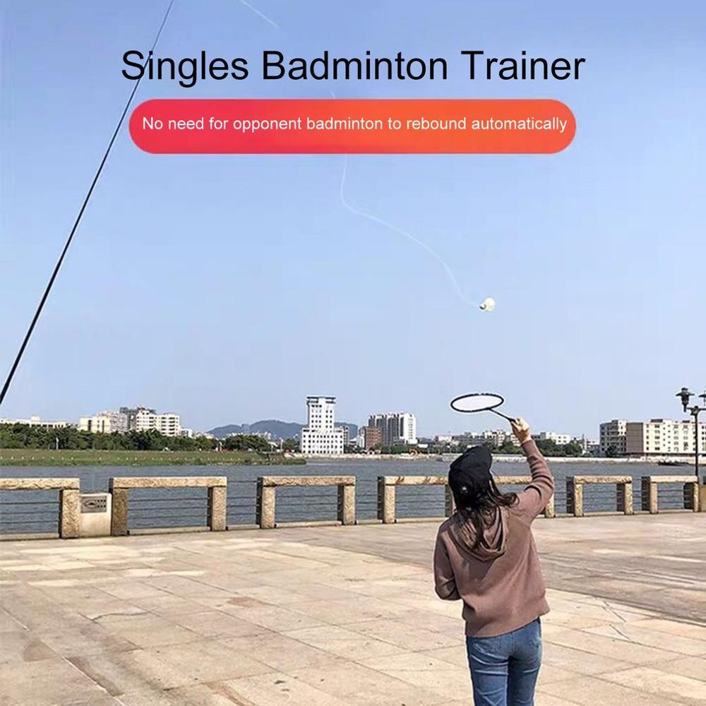 Robot entrenador de bádminton profesional, raqueta de bádminton, dispositivo de entrenamiento, herramienta de práctica de ejercicios de auto-Estudio, máquina de rebote