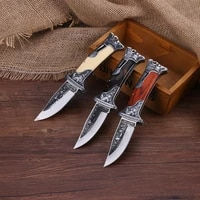 very sharp 440b steel manual forging outdoor knife high hardness folding multifunctional defensive outdoor tactical knife