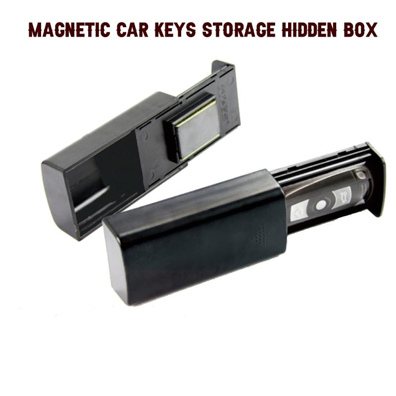 Kreative Stash Schlüssel Safe Storage Box Magnetische Portable Storage Box Versteckte Schlüssel Für Auto Caravan Lkw Home Reise Outdoor Camp