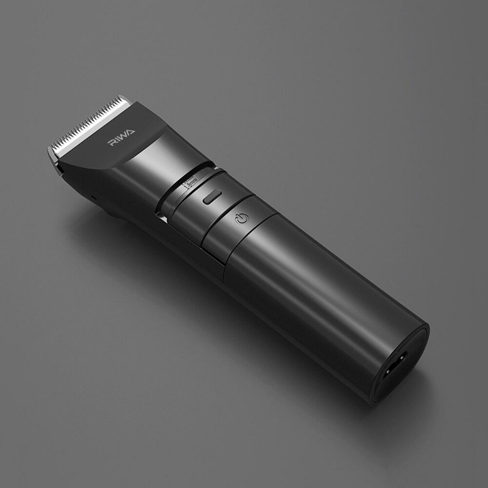 AIKIN ريوا المنزل استخدام قابلة للشحن مقص الشعر الكهربائية USB شحن الشعر المتقلب للرجال LED بطارية عرض مشابك شعر اللحية