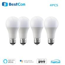 BroadLink WiFi ampoule intelligente réglable Alexa Amazon contrôle vocal Compatible Google maison Mini 6.5W lampe LED BestCon LB1