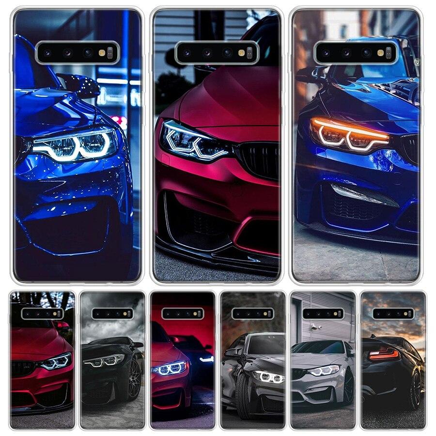 Azul intenso rojo para Bmw teléfono funda para Samsung Galaxy S10 S20 Ultra Lite Nota 10 9 8 S9 S8 J4 J6 J8 Plus + Pro S7 Coque Capa