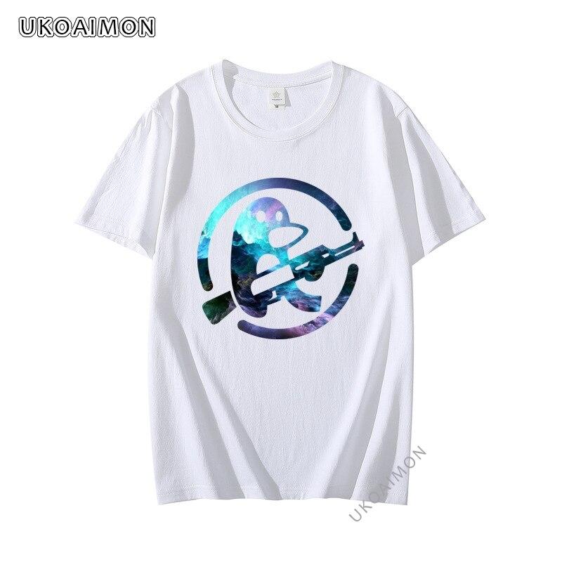Новое поступление модные персонализированные футболки с логотипом епикса галактика простые футболки с круглым вырезом футболки с коротки...