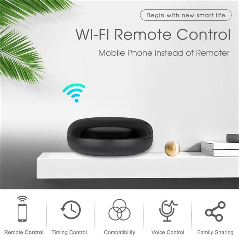 Универсальный умный WiFi + ИК-переключатель пульт дистанционного управления Поддержка Alexa Google умный дом автоматизация для Android IOS