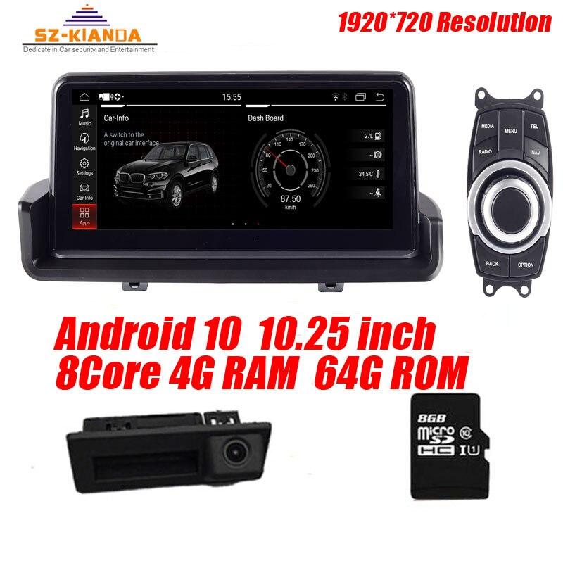 Auf Lager 4G + 64G android 10.0 auto Radio gps NAVIGATION Für bmw 3 serie E90 318I 320i E91 e92 E93 mit Wifi bluetooth Idrive Karte