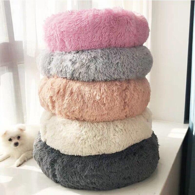 Удобная кровать для питомца кошки, кровать для питомца, моющаяся кровать для собаки, мягкая теплая кровать для питомца, для кошек, собак, кру...