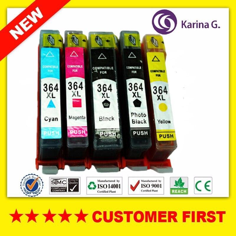 364XL متوافق ل CN684EE HP364 دعوى ل فوتوسمارت B8550 B8553 B8558 C5300 C5324 C5370 D5400 D5460 D5463 D5468 الخ.