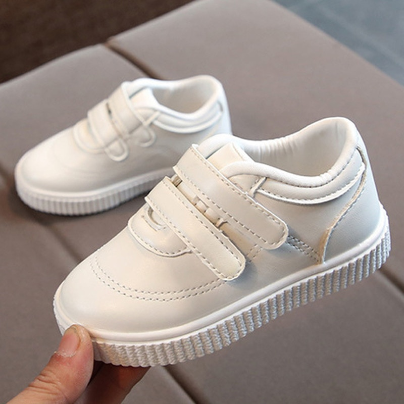 criancas tenis meninos sapatos meninas formadores criancas sapatos de couro branco
