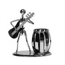 Yaratıcı Metal müzik çalar müzisyen kalem kalemlik masaüstü depolama organizatör M5TB