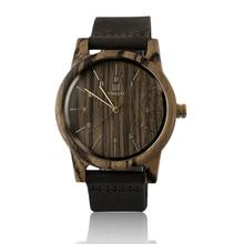 New UW-1008 Fashionable Men Women Unisex Wooden Wrist Watch Casual All Match Clothes Quartz Wrist Watch Best Gift